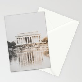 Lincoln Memorial at Dusk Stationery Cards