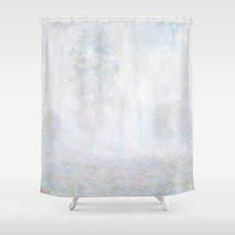 Morning Haze by Claude Monet Shower Curtain