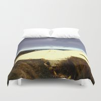 darwin Duvet Covers featuring WW2 Underground Bunkers by Chris' Landscape Images & Designs