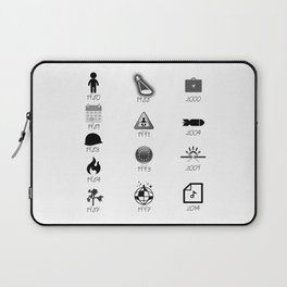 u2's discography Laptop Sleeve