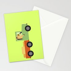 Horse on Truck Stationery Cards