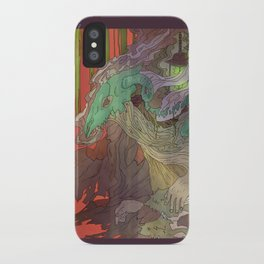 Towing Night iPhone Case