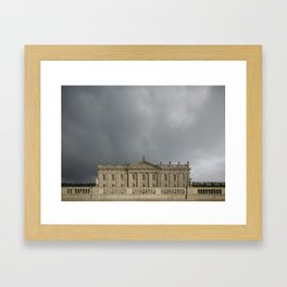 Chatsworth | English Country House Framed Art Print