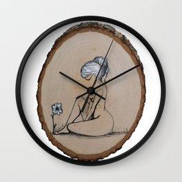 She Knew better Wall Clock