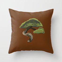 Bonsai Tree Throw Pillow