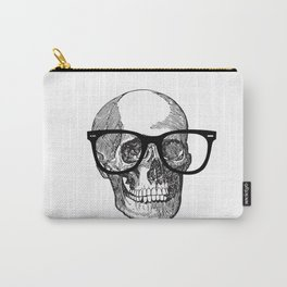 I die hipster - skull Carry-All Pouch