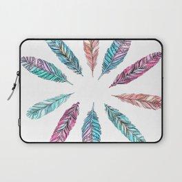 Wallpaper Feather Laptop Sleeve