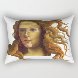 Venus Lisa Rectangular Pillow