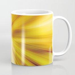 Radial blur:Golden Coffee Mug