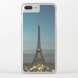 EIFFEL - TOWER - CITY OF PARIS Clear iPhone Case