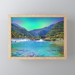 Fantasy dream or alternative reality Framed Mini Art Print