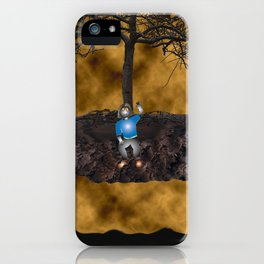 Book Cover Illustration iPhone Case