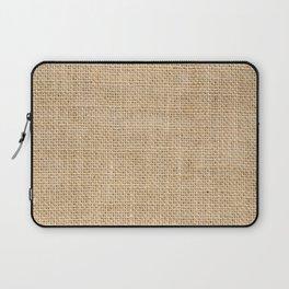 Burlap Fabric Laptop Sleeve