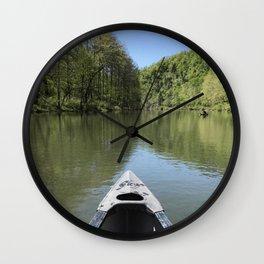 Bote ride Wall Clock