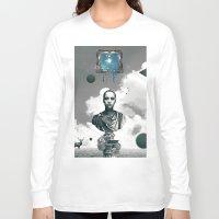 window Long Sleeve T-shirts featuring Window by Justin Kikunga