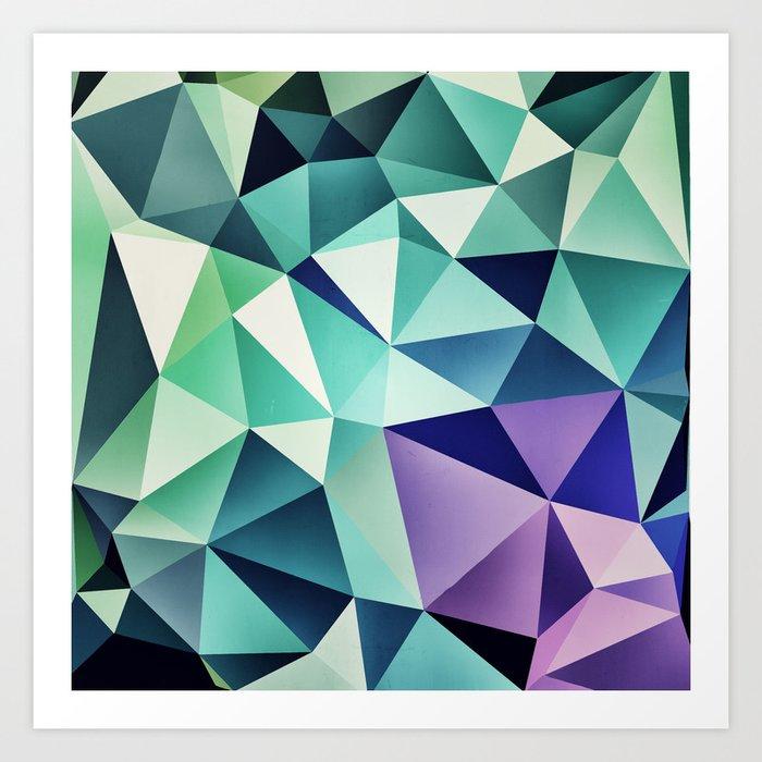 :: digital pattern :: Art Print