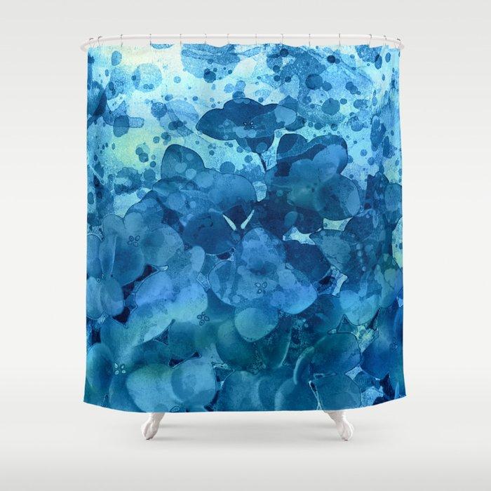 hydangeas under water Shower Curtain by clemm | Society6
