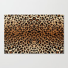 leopard pattern Canvas Print