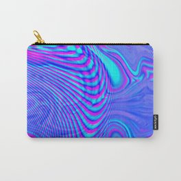 GLITCH MOTION WATERCOLOR OIL Carry-All Pouch