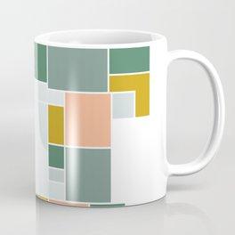 Abstract Floor Plan Beach Colors Coffee Mug