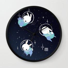 Space Bunnies Wall Clock