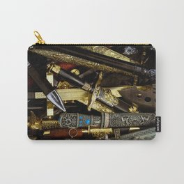 Collage - Daggers, Dirks and Sabres Carry-All Pouch