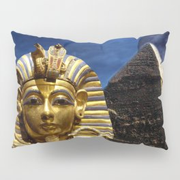 King Tut and Pyramid Pillow Sham
