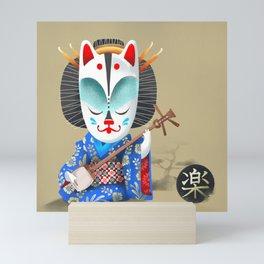 The Kitsune Music Mini Art Print