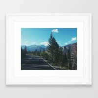 colorado Framed Art Prints featuring Colorado by Gabrielle Wall