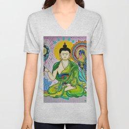 Buddha Freedom Nirvana Unisex V-Neck