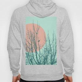 Birds and tree silhouette 2 Hoody
