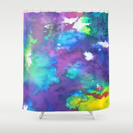 Untitled Abstract 3 Shower Curtain
