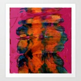 Spill No.3 Art Print