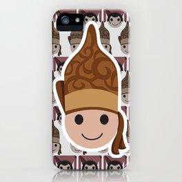 Iconic Headdresses - North Sumatra iPhone Case