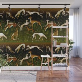 Sighthounds Wall Mural