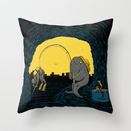 Fisher Fish Throw Pillow