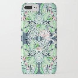 Dark Tropics Pattern by Kristen Baker iPhone Case