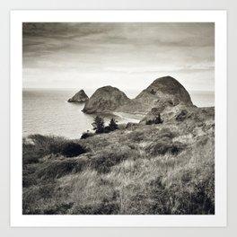 ... L'île du bout du Monde II ... Art Print