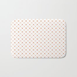 Criss Cross Dots Bath Mat