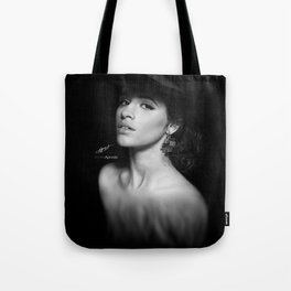 Camila Cabello 'Reflection' Digital Painting Tote Bag