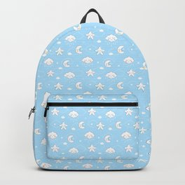 Sleepy Time Moon, Clouds and Stars Backpack