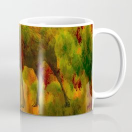 Camouflage Deer Coffee Mug