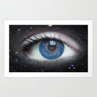 Eye of the Universe Art Print