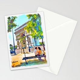 The Arc de Triomphe Paris Stationery Cards