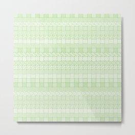 Square Syndrome Metal Print