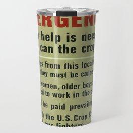 Vintage poster - Canneries Travel Mug