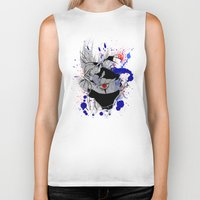 kakashi Biker Tanks featuring Kakashi Eye by feimyconcepts05