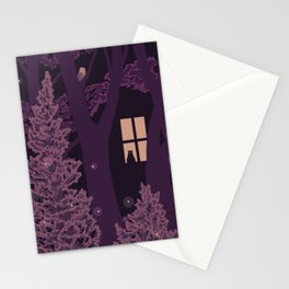 Window in the woods Stationery Cards