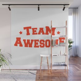 Team Awesome Wall Mural