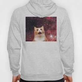 scaredy cat in space Hoody